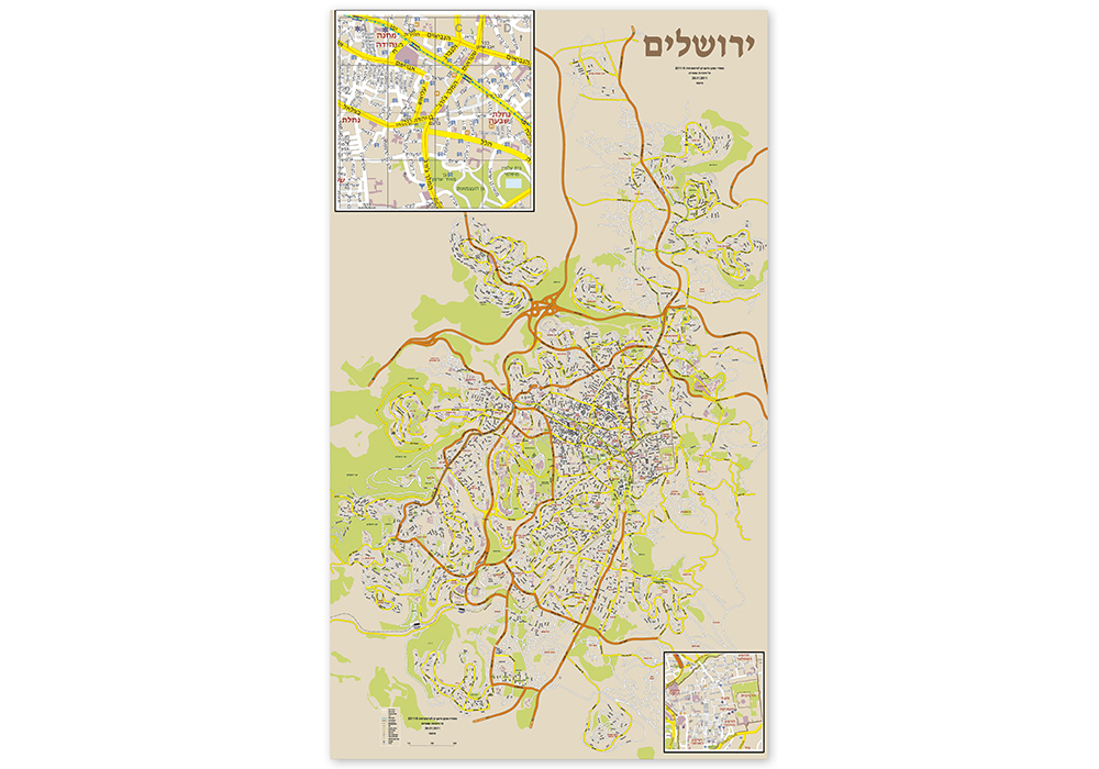 מפות תיירות